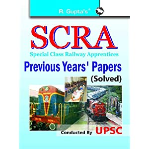 SCRA Previous Solved Papers: Previous Years' Papers Solved