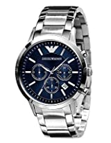 Emporio Armani Silver Stainless Steel Analog Men Watch AR2448