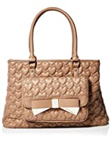 Betsey Johnson Be Mine Forever East West Tote - Spice