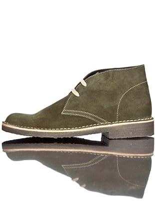 British Passport Zapatos Botín (Verde)
