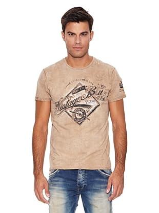 Pepe Jeans London Camiseta Solomon (Beige)