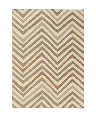 ABC Teppich Ikat Sand mehrfarbig