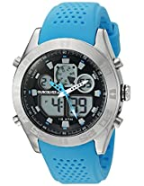 Quiksilver Analog-Digital Brown Dial Men's Watch - QS-1017-BLSV