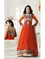 Amisha Patel Semi Stitched Designer Anarkali Suit