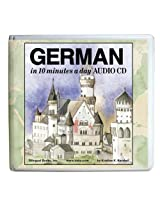 10 Minutes a Day Audio CD Wallet: German (10 Minutes a Day Series)