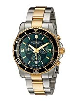 Victorinox Men's 241693 Maverick Chronograph Two-Tone Stainless Steel Bracelet Watch