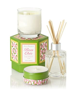 Seda France Sugar Blossom Lime Bon Chic Scent Set