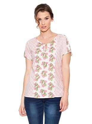 Mahal Camiseta Flores (Rosa)