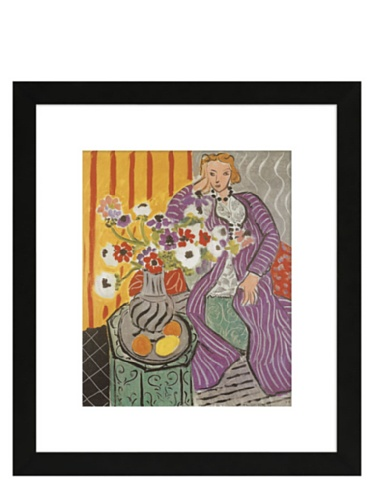 Matisse - Purple Robe and Anemones, 1937, 15