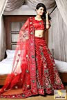 Red Wedding Bridal Lehenga Choli