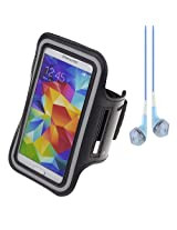 Sumaccn Black Workout Armband Pouch Case Cover
