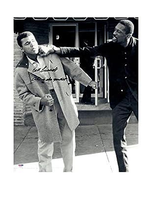 Steiner Sports Memorabilia Bill Russell Signed With Muhammad Ali Photo, Black/White, 20