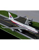 1:400 Gemini Jets Boeing 747 400 Malaysia Airlines Reg #9 M Mhl (Pre Painted/Pre Built)