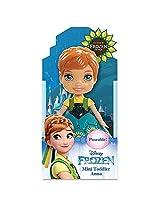 Disney Frozen Fever Toodler Anna Mini Poseable Doll