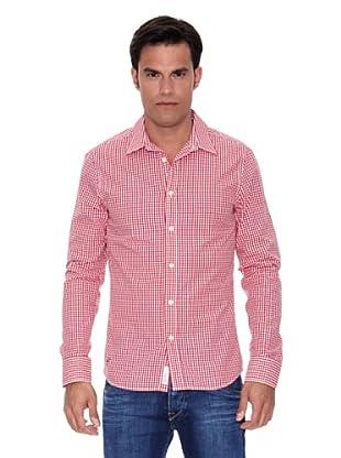 Pepe Jeans London Camisa Upton (Rojo / Blanco)