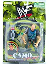 WWF - Stone Cold Steve Austin - Camo Carnage - With Accessories - Jakks