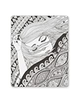 PosterGuy Sleeping Beauty Line Art Graphic Illustration Mouse Pad