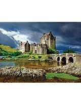 Buffalo Games Majestic Castles: Eilean Donan - 750 Piece Jigsaw Puzzle by Buffalo Games