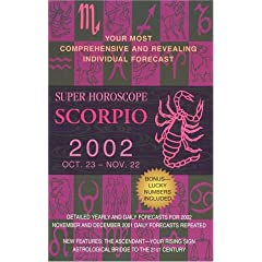 Super Horoscopes 2002: Scorpio