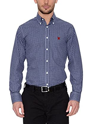 POLO CLUB Camicia Uomo Checks