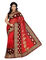NET Party wear De Marca 163 A Saree