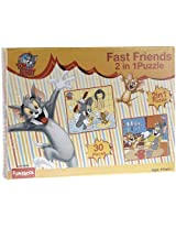 Funskool Tom and Jerry 2-in-1 Puzzle