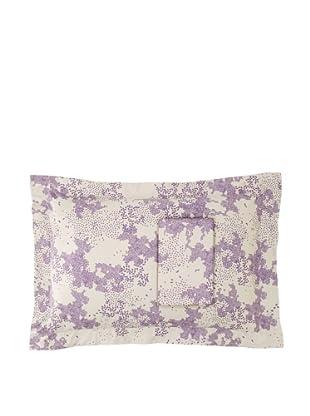 Twinkle Living Pair of Dew Pillow Shams (Dove/Plum)