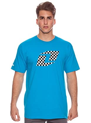 One Industries Camiseta Checkers Icon (Turquesa)
