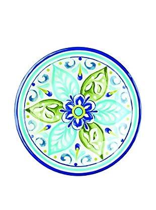 Mediterranean Tile Melamine Salad Plate, Multi