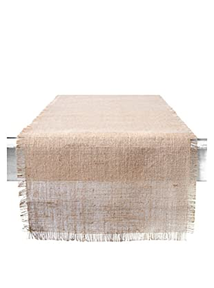 Couleur Nature Natural Burlap Runner