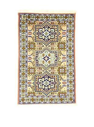 Eden Teppich   Ardebil Fondo Seta 63X102 mehrfarbig