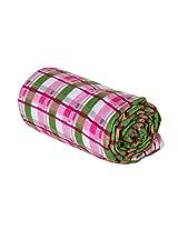 Trend Lab Swaddle Blanket, Pink Plaid