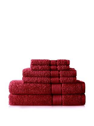 Espalma Ambassador 6-Piece Towel Set, Merlot