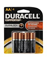 Duracell AA Batteries with DURALOCK Technology