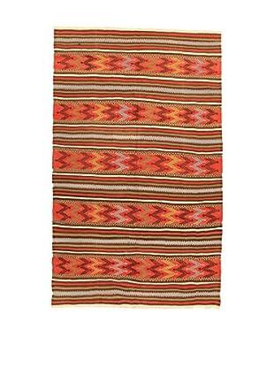 Design Community By Loomier Teppich Kilim Caucasico orange/mehrfarbig 150 x 246 cm
