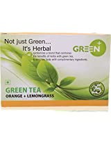 Tpot Green Tea(Orange + Lemongrass), 25 tea bags