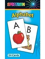 SPECTRUM FLASH CARDS ALPHABET