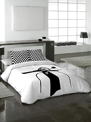 Masm rebajas ropa de cama euromoda hasta el lunes 17 for Funda nordica blanca y gris