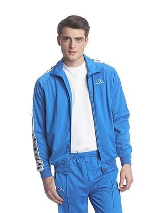 Kappa Men's Banda Anniston Track Jacket (Italian Blue)