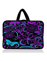 "Purple-black design 6"" 7"" 7.85"" inch tablet Case Sleeve Carrying Bag Cover with handle for Apple iPad mini/Samsung GALAXY Tab P3100 P6200/Kindle Paperwhite/Kindle Touch/Kindle fire/Kindle fire HD 7 inch/Acer Iconia A100/Google Nexus 7/Noble NOOK Color"