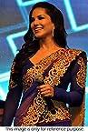 Bollywood Replica Sunny leone Georgette Saree In Blue Colour NC655
