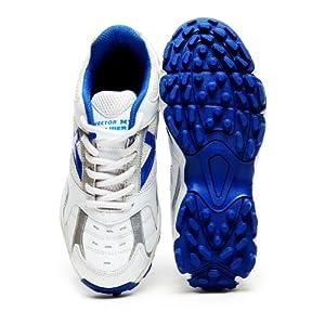 Vector X Calibre Cricket Shoes, White, Size 6
