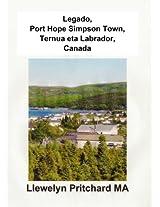 Legado, Port Hope Simpson Town, Ternua eta Labrador, Canada (Port Hope Misterios Book 3) (Basque Edition)
