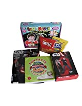 Boys Activity Bundle Star Wars 36 Bopper, Star Wars Coloring And Activity Book, Ripleys Believe It Or Not Fun Facts For Kids Book, Lumi Dough, Snacks