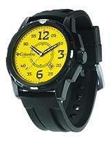 Columbia Descender CA800-901 Round Dial Polyurethane Strap Watch - For Men