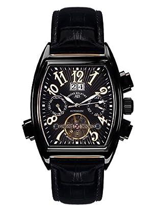 André Belfort Automatikuhr Royale Date Ip Schwarz schwarz 38  mm