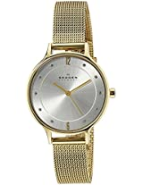 Skagen End-of-Season Anita Analog Silver Dial Women's Watch - SKW2150