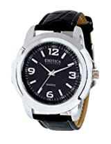 Exotica Analog Black Dial Men's Watch (EFG-05-B)