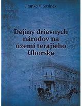 Dejiny Drievnych Narodov Na Uzemi Terajieho Uhorska