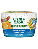Citrus Magic 618372454 Triple Action Moisture and Odor Absorber